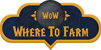 Where to farm in WoW logo