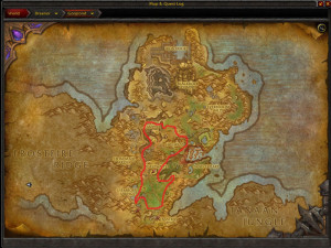 Map of Where to farm Gorgrond Flytrap in Grogrond
