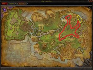 Map of Where to farm Chameleon Lotus in Nagrand