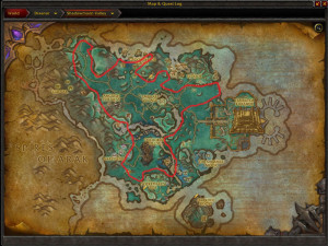 Map of Where to farm Starflower in Shadowmoon Valley