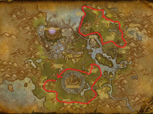Map of Where to farm Talador Orchid in Talador
