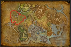 Map of Where to farm Starlight Rose in Suramar